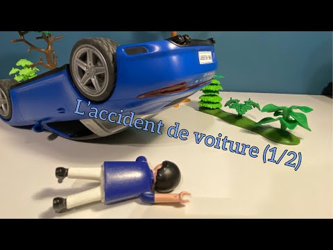 l 39 accident de voiture pisode 1 2 film playmobil youtube. Black Bedroom Furniture Sets. Home Design Ideas