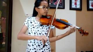 Nada Violin ~ Kupu - Kupu  ( Melly Goeslaw )