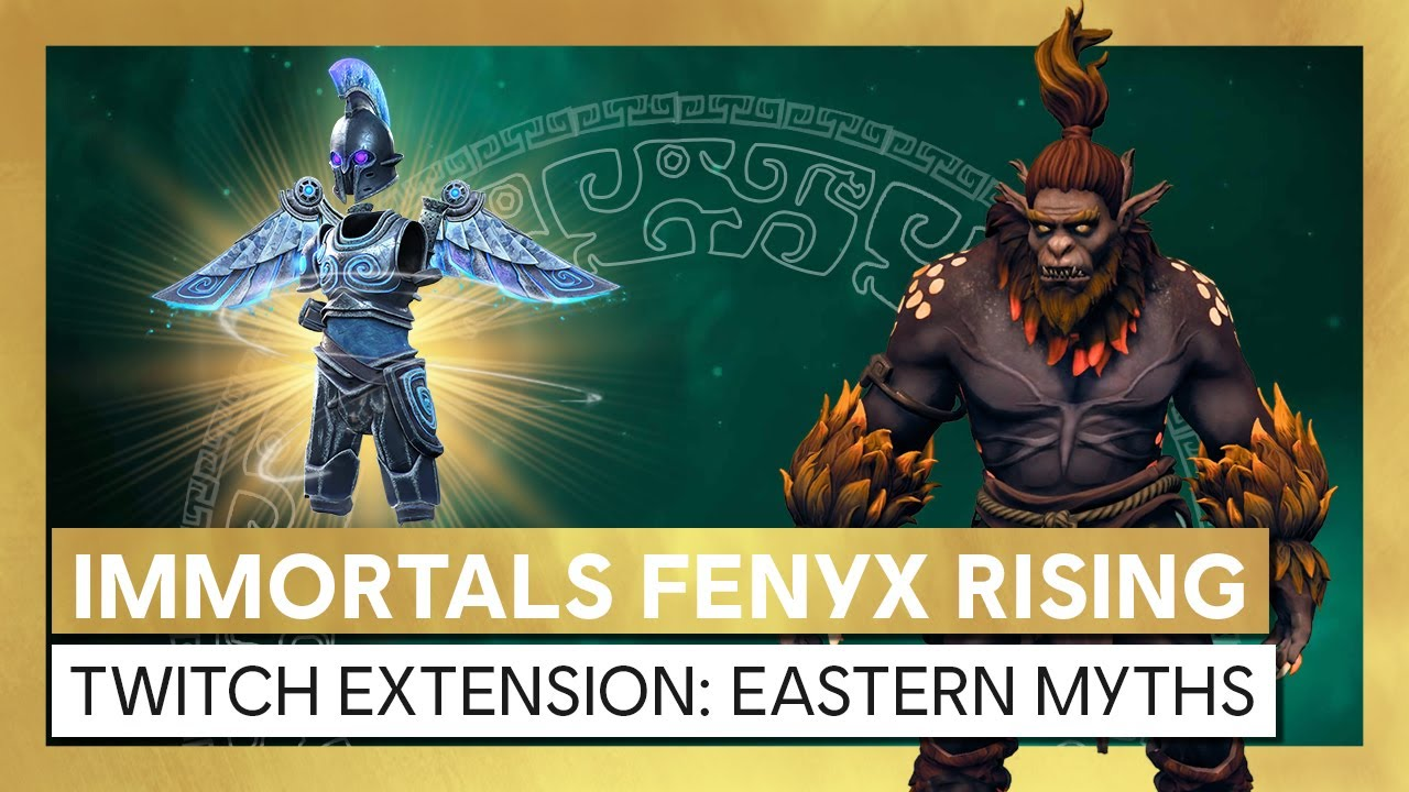 Immortals Fenyx Rising - Monster Hunt Twitch Extension: Eastern Myths