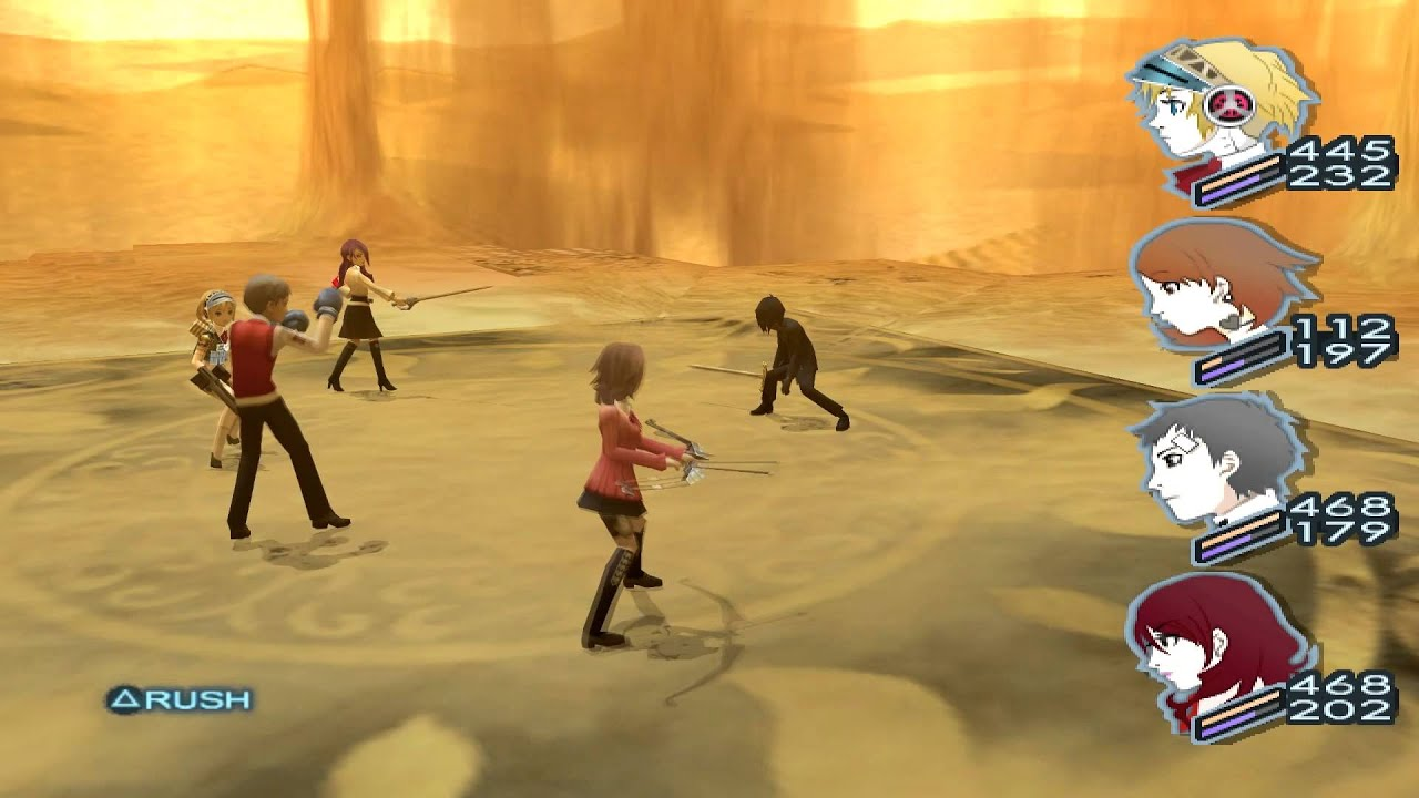 Video - Persona 3 FES The Answer Boss ??? (Protagonist) Empyrean