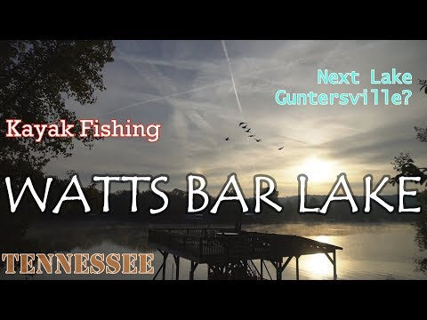 Bass Fishing At Watts Bar Lake