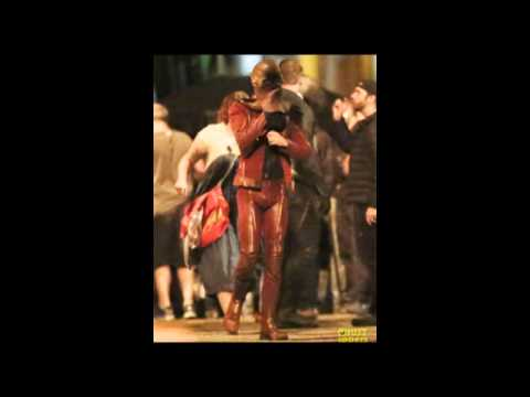 Grant Gustin Films Fight s with Teddy Sears Before Wrapping 'The Flash' Season 2