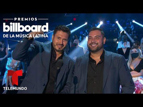 Banda MS gana Artista Regional Mexicano del Año, Dúo o Grupo | Premios Billboard 2020