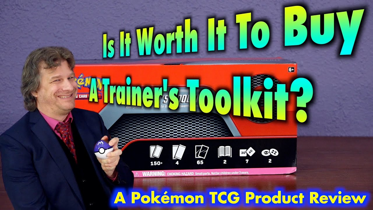 Is It Worth It To Buy A Pokémon Trainer's Toolkit? A PKMNTCG Product Review