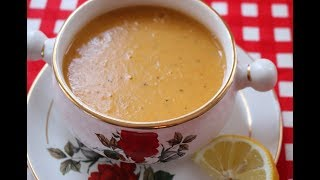 Быстрый турецкий Суп на ужин/Суп из красной чечевицы