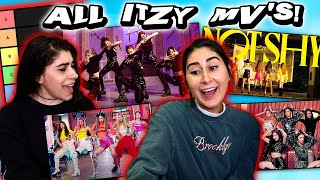 Download lagu Reacting to ALL ITZY MV's and RANKING Each Song! (마.피.아. In the morning, Dalla Dalla, Icy, Not Shy)