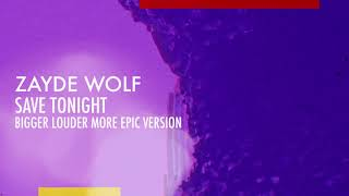 Download ZAYDE WOLF - SAVE TONIGHT - KRYPTON - SYFY SUPERMAN TRAILER MP3 song and Music Video