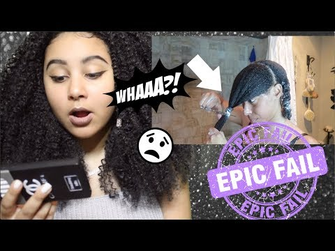 NATURAL GIRL REACTS TO NATURAL HAIR CUT FAIL #5