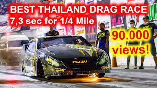Video BEST THAILAND DRAG RACE - up to 7,3 sec for 1/4 Mile (402 m). Compilation from Bangkok Drag Avenue download MP3, 3GP, MP4, WEBM, AVI, FLV November 2018