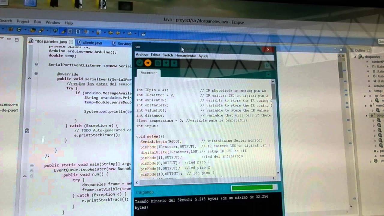 Comprobación de la conexión java arduino mediante