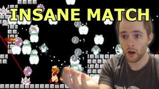 The MOST INSANE match of Super Mario 35 to date!