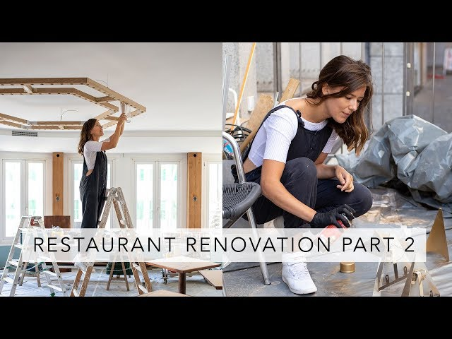 RESTAURANT RENOVATION UPDATE | Vlog | Sofia Clara