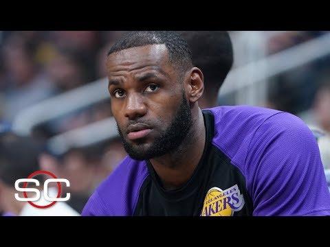 LeBron James groin injury update   SportsCenter