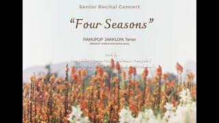 "Senior Recital Concert ""Four Seasons"""