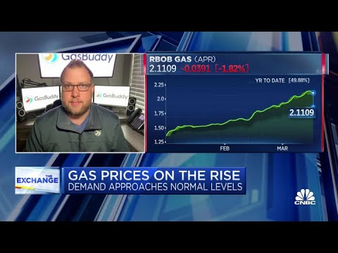 Here's what's fueling rising gas prices
