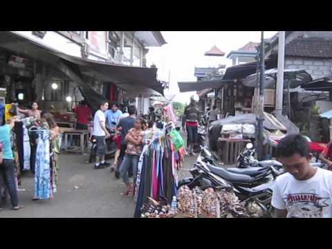 Walking around Ubud (Bali, Indonesia) [HD video]