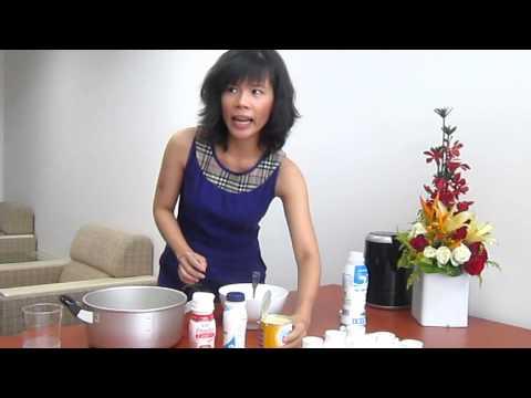 Fresugurt - Cach lam sua chua