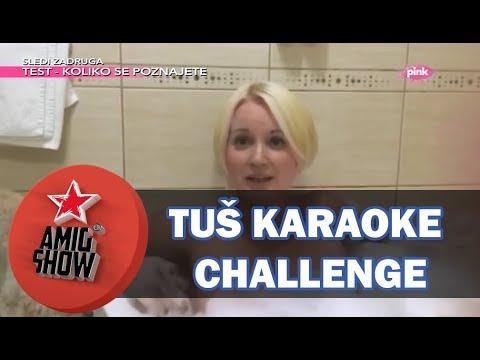 Ami G Show S10 - E07 - Tuš karaoke challenge - Maja Nikolić
