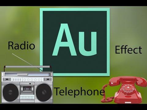 Easy Telephone/Radio Effect Using Adobe Audition CC 2018