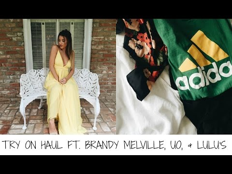 TRY ON HAUL FT. BRANDY MELVILLE, UO, & LULUS