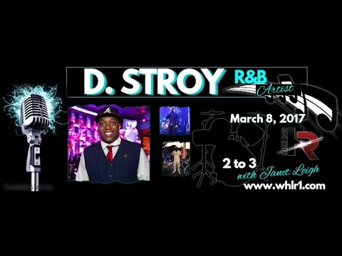 2 to 3 with Janet Leigh talks with R&B Artist D. Stroy