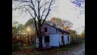 Opuszczony dom zagubiony w Puszczy    Okolice Wsi Górki