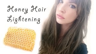 How I lighten my hair with honey, cinnamon and olive oil!