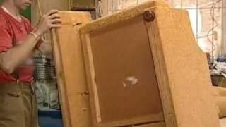 Ремонт кресел своими руками(Ремонт кресел своими руками пример ремонт мягкого кресла. Видео
