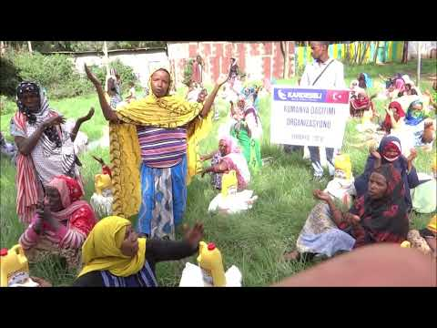 Kumanya Dağıtımı Organizasyonumuz - Etiyopya