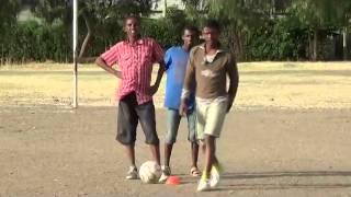 Kombolcha football teams in training