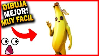😱 HOW TO DRAW FORTNITE BANANA SKIN step by step 🔥 Fortnite Drawings