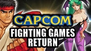 Capcom Fighting Games Return In 2014! (Project Justice Gameplay)