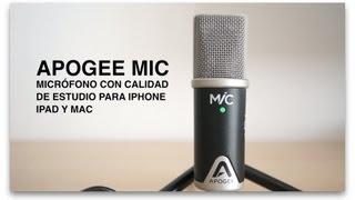 Analizamos el micrófono USB de Apogee. Un dispositivo con patrón ca...