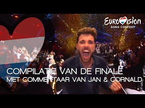 Compilatie van Duncans finale met commentaar van Jan Smit en Cornald Maas | TeamDuncan