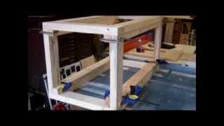 Building An Aquarium Stand Part 1