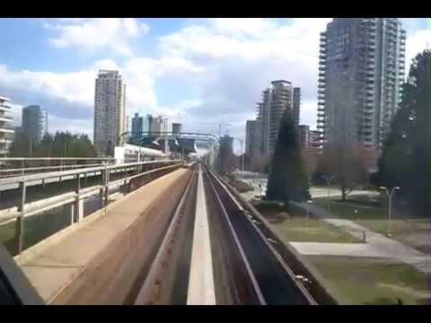 Vancouver, BC Sky Train