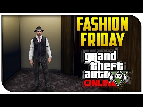 GTA 5 Online - FASHION FRIDAY! (The Detective, 11th Doctor & Hairpin Hipster) [GTA V Cool Outifts]