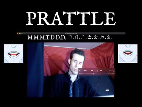 P: Prattle: Pronunciation (ft. Maximal Moribund Murdoch; The Dewey Decimal Dude) With Hangul Transli