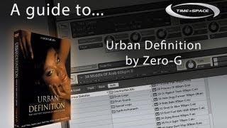 Zero-G Urban Definition Hip Hop & RnB Sample Pack