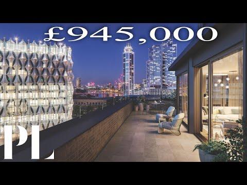 £945k Luxury London Apartment Tour In Nine Elms | Property London UK