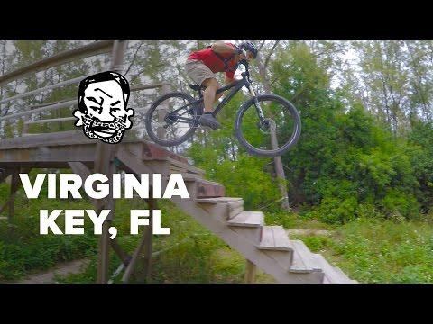 From Miami Landfill to MTB Park - Virginia Key