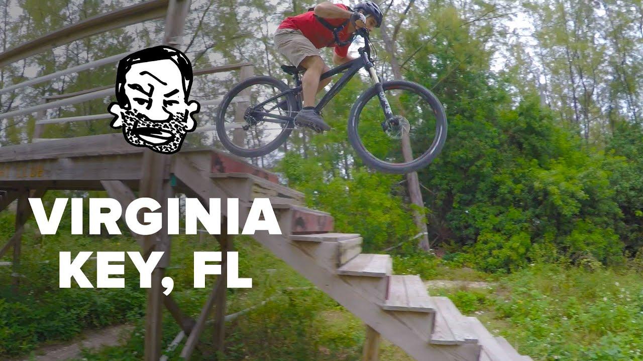 From Miami Landfill To Mtb Park Virginia Key Youtube