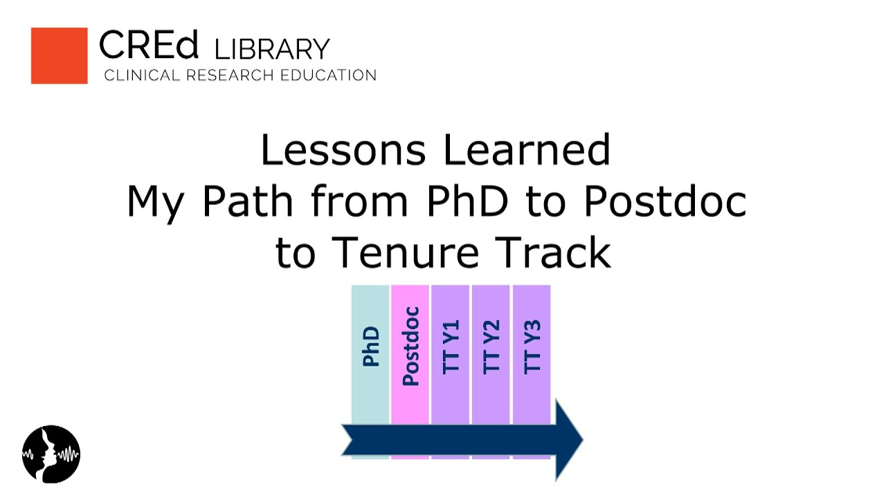 Lessons Learned My Path From PhD To Postdoc Tenure Track