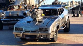 Mad Max cars starting in Sydney