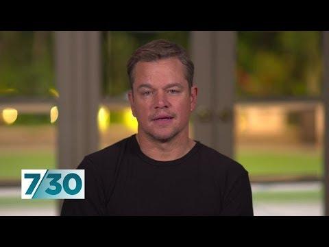 Matt Damon Talks About His New Film Ford V Ferrari | 7.30