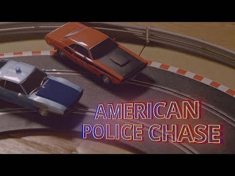 Scalextric | American Police Chase (C1405M)