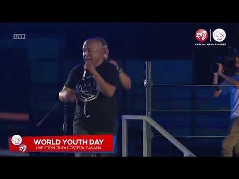 Little Drummer Boy Rap, by El Padrecito - Live @ WYD 2019 600,000 in attendance!
