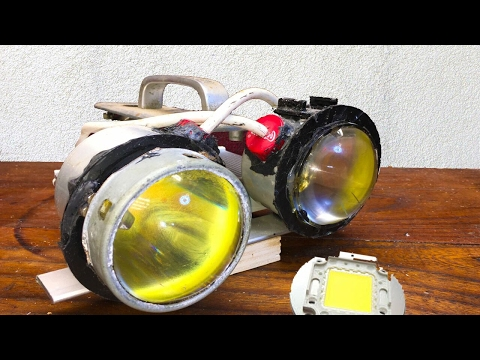 Powerfull 200W RedNeck Scuba Torch LED