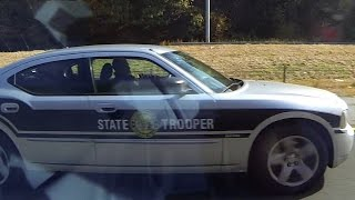 "North Carolina State Highway Patrol unit ""SHP 943"" Speeding"