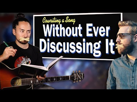 Paul Davids And I Wrote A Song (Without Ever Discussing It!)